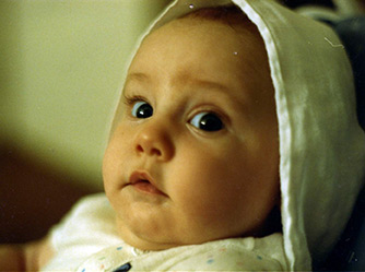 In 1987 a young couple in Louisville, Kentucky brought this beautiful baby girl into the world.