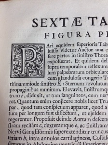 Rare medical book text