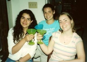 The Girls with virgin margaritas