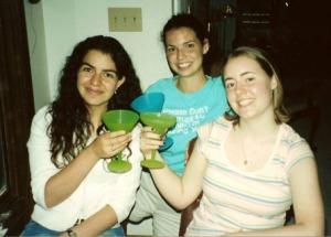 The Girls with virgin margaritas