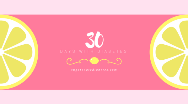 30 days with diabetes graphic